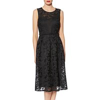 Gina Bacconi Emily Embroidered Mesh Dress