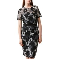 Fenn Wright Manson Mykonos Dress, Black/Grey