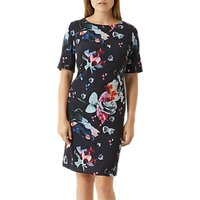 Fenn Wright Manson Petite Agatha Dress, Navy/Multi