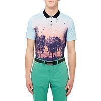 Ted Baker Golf Hosal Polo Shirt, Light Blue