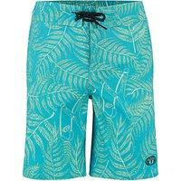 Animal Boys' Lagoona Board Shorts, Blue