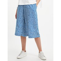 Collection WEEKEND by John Lewis Paper Floral Culottes, Blue