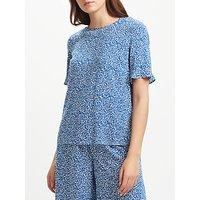 Collection WEEKEND by John Lewis Paper Floral Top, Blue