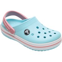 Crocs Children's Crocband Clogs, Ice Blue