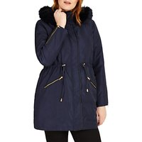 Studio 8 Melanie Parka Coat, Navy