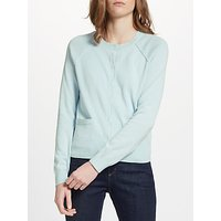 Collection WEEKEND by John Lewis Cotton Cardigan, Pale Blue
