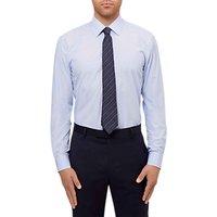 Jaeger Stripe Slim Fit Shirt, Blue