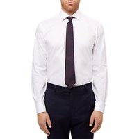 Jaeger Dobby Slim Fit Shirt, White