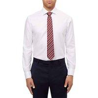 Jaeger Regular Fit Twill Shirt, White