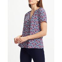 Collection WEEKEND by John Lewis Daisy Chain Top, Navy
