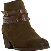Bertie Prynceton Block Heeled Ankle Boots