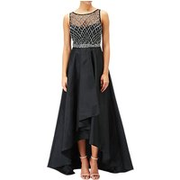 Adrianna Papell Beaded Fit And Flare Gown, Black