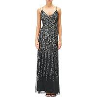 Adrianna Papell Sequin Evening Dress, Black