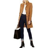 Karen Millen Crombie Coat, Camel