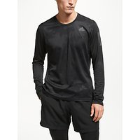 adidas Response Long Sleeve Running Top, Black