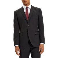 Jaeger Wool Twill Regular Fit Suit Jacket, Black