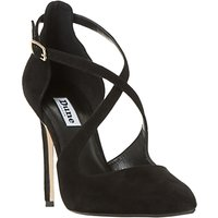 Dune Dakotah Cross Strap Stiletto Heeled Court Shoes