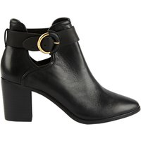 Ted Baker Sybell Block Heeled Ankle Boots, Black