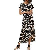 Finery Conduit Short Sleeve Jersey Dress, Multi