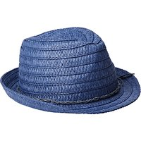 John Lewis Children's String Detail Trilby, Navy