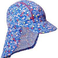 John Lewis Childrens Spot Print Keppi Sun Hat, Pink