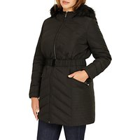 Studio 8 Jamie Long Sleeve Puffer Coat, Black