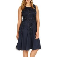 Studio 8 Erin Dress, Navy