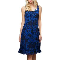 East Oriental Rose Pleat Dress, Multi