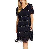 Studio 8 Holly Dress, Navy Black