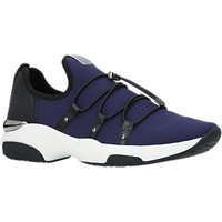 Carvela Lindsey Fabric Trainers, Navy