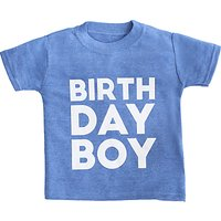 My 1st Years Childrens Birthday T-Shirt, Blue
