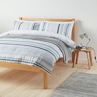 John Lewis Weymouth Stripe Duvet Cover and Pillowcase Set