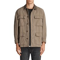 AllSaints Dyers Military Jacket, Khaki Green