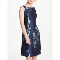 Bruce by Bruce Oldfield Jacquard Fit And Flare Dress, Navy