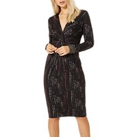 Damsel in a dress Stipple Print Dress, Multi