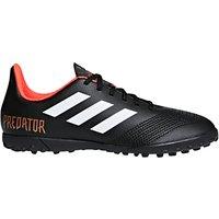 Adidas Childrens Predator Tango 18.4 Trainers, Black/Red