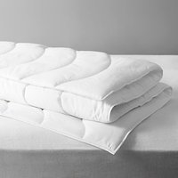 John Lewis and Partners Synthetic Soft Touch Washable Duvet, 2.5 Tog