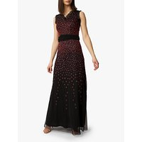 Raishma Scarlet Gown, Black