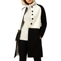 Damsel in a dress Penhurst Coat, Black/Ivory