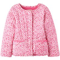 Baby Joule Phoebe Quilted Jacket, Pink