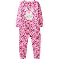 Baby Joule Gracie Bunny Babygrow, Pink
