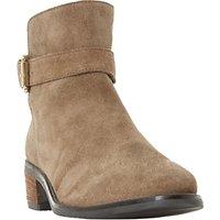 Dune Pheobie Block Heeled Ankle Chelsea Boots