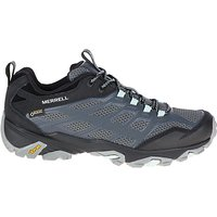 Merrell Moab FST GORE-TEX Waterproof Women's Walking Shoes, Granite
