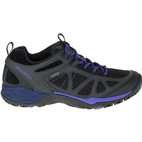 Merrell Women's Siren Sport Q2 Gore-Tex Walking Shoes, Black/Liberty