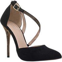 Carvela Lucy 2 Studded Stiletto Heeled Court Shoes, Black