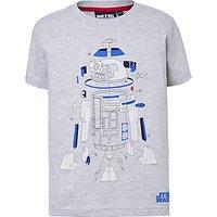 Star Wars Children's R2D2 T-Shirt, Grey
