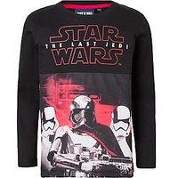 Star Wars Childrens Storm Trooper Top, Black