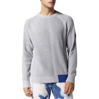 Diesel Sami K-Stats Block Colour Jumper, Grey