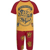Harry Potter Childrens Short Pyjamas, Yellow/Red