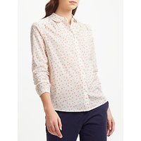 Collection WEEKEND by John Lewis Vintage Ditsy Floral Print Shirt, Ivory/Multi